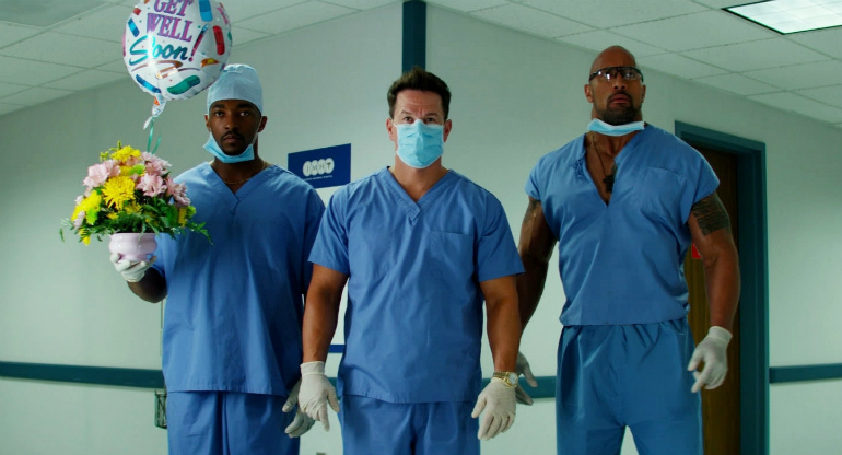 mark wahlbergdwayne johnson and anthony mackie pain and gain