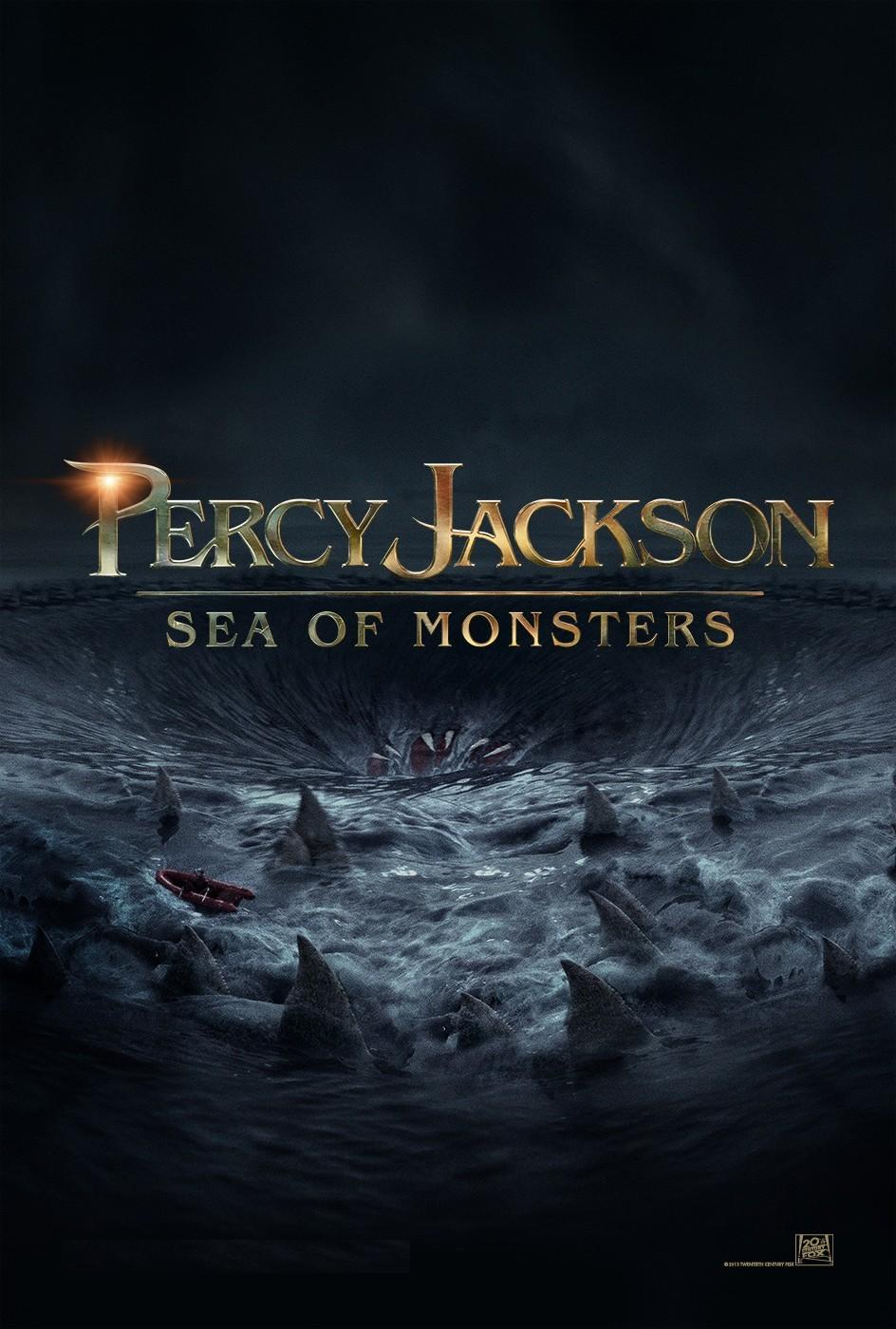 Percy Jackson: Sea of Monsters has a poster & trailer ...