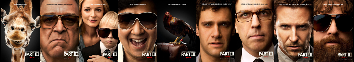The Hangover 3 poster banner copy