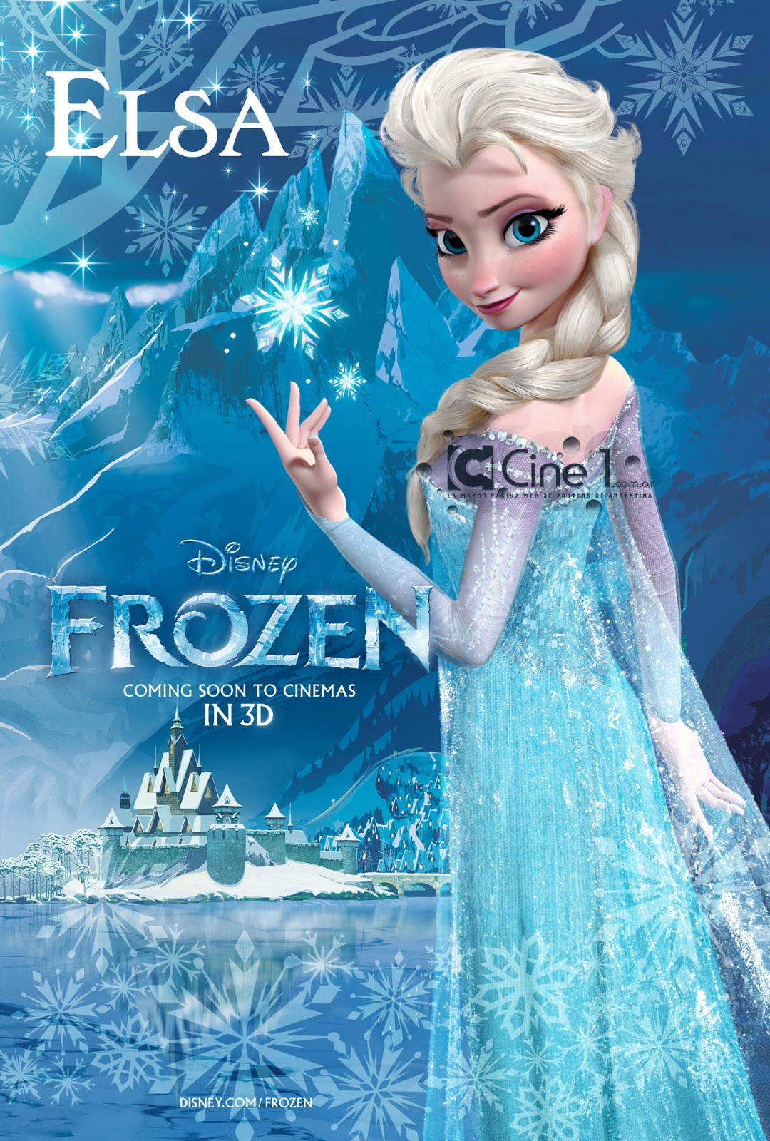 "Disney movie ""Frozen"" gets a first look"