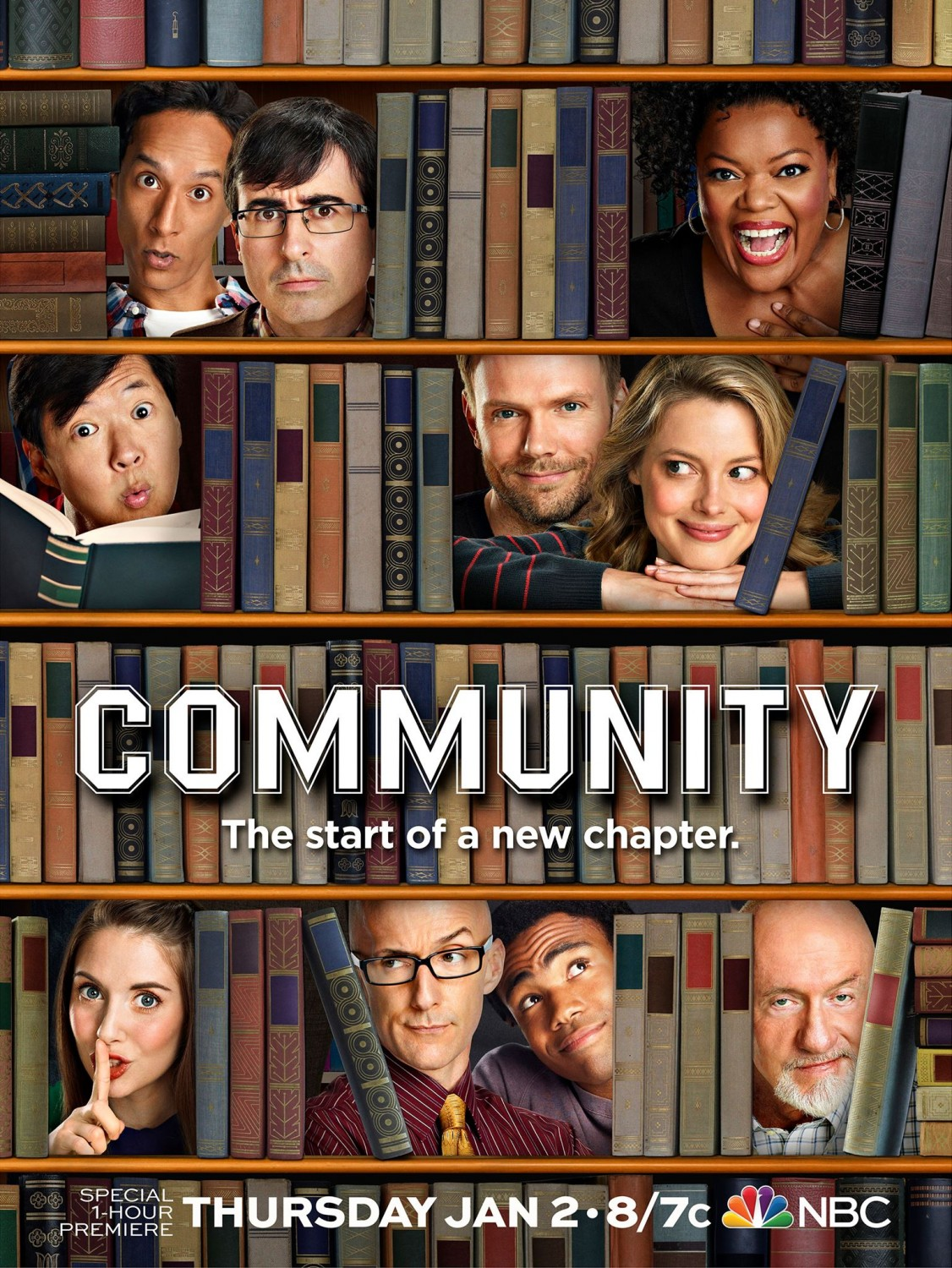 New Posters – Community, House Of Cards, The Walking Dead & Klondike – The Second Take