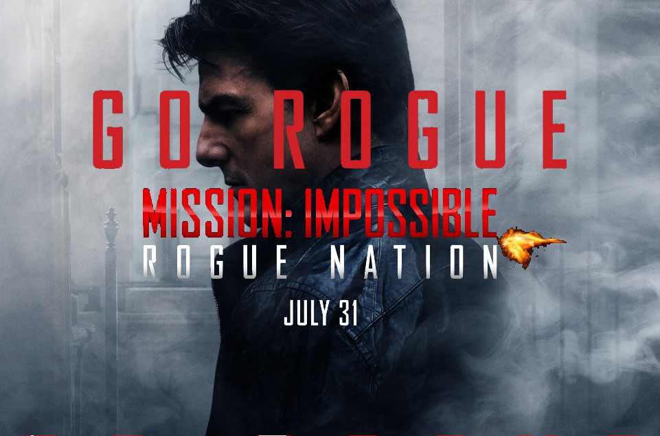 Go Rogue – Mission: Impossible – Rogue Nation New Trailer