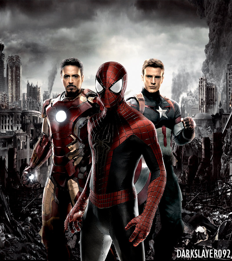 how will the re recast spider man play into cap civil war tom holland lands role gets own. Black Bedroom Furniture Sets. Home Design Ideas