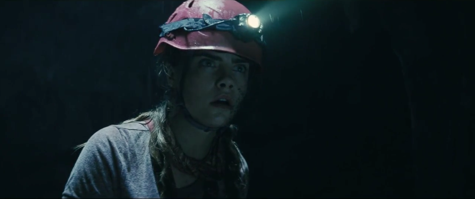 cara delevingne in suicide squad trailer by DC comics Warner Bros.