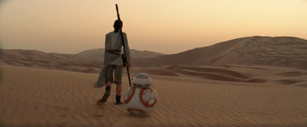 star wars episode 7 the force awakens finn han solo rey daisy ridley harrison ford john boyega carrie fischer carrie fisher mark hamill luke skywalker chewbacca andy searches kylo ren adam driver the force the jedi jedis the first order resistance star wars 7 trailer poster max von sydow lupita  BB-8