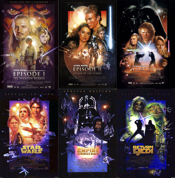 all star wars posters