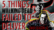 The walking dead season 6 review season 6 s6 heads up start to finish carl's eye chandler riggs glenn rhee steven yeun maggie greene lauren cohan negan abraham daryl dixon norman reedus sasha TWD fear the walking dead
