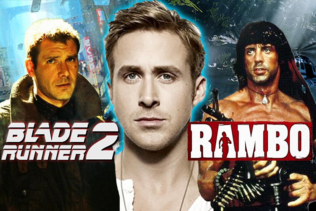Ryan Gosling blade runner rambo reboot sequel edge of human harrison ford john rambo sylvester stallone