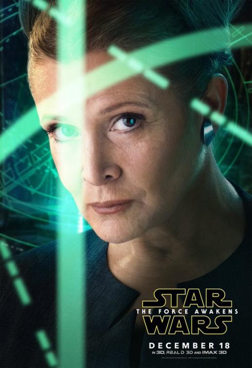 Star wars the force awakens poster leia han solo kylo ten finn rey mark hamill episode 7 full poster final trailer harrison ford john boyega daisy ridley carrie fisher  jj abrams
