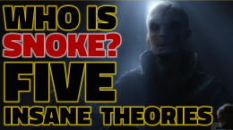 Star Wars the force awakens trailer reaction supreme leader snoke andy serkis theories