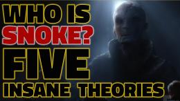 Star Wars the force awakens trailer reaction supreme leader snoke andy serkis theories
