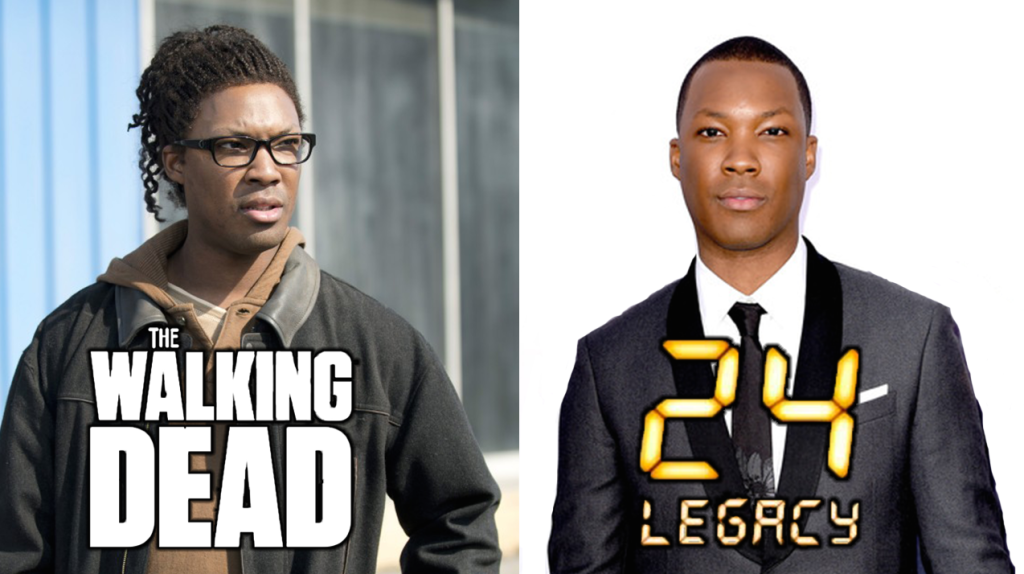 24 legacy the walking dead corey hawkins