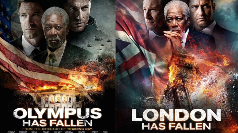 'London Has Fallen' Mimics 'Olympus Has Fallen' Poster ... Gerard Butler 2016