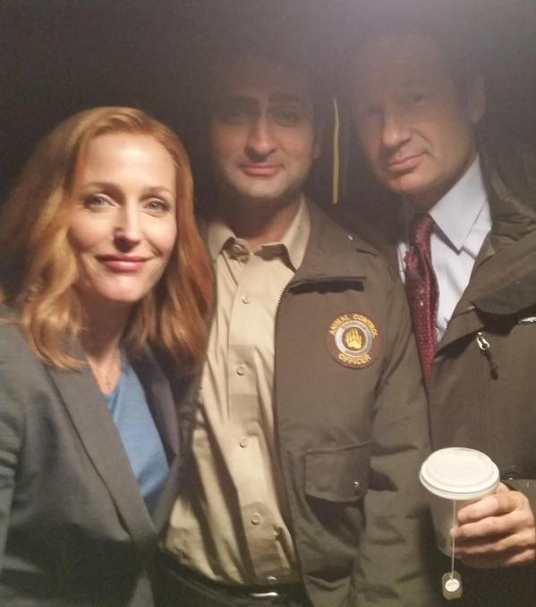 Kumail Nanjiani The X-Files were-monster dana scully fox mulder gillian anderson david duchovny