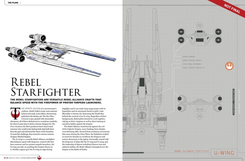 rogue one rebel starfighter