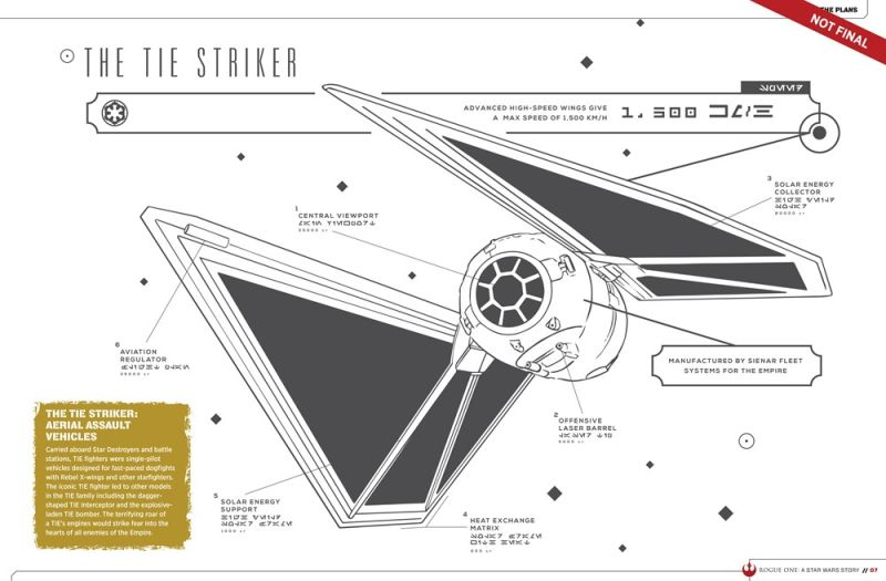rogue one striker ship