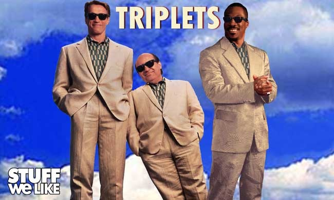 Triplets The Sequel To Twins 1988 Is Officially On It S Way The Second Take