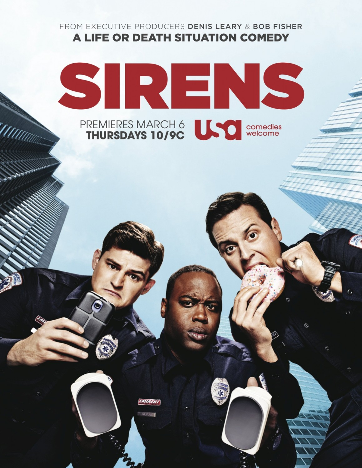 Newest Tv Show Posters The Neighbors Sirens Intelligence